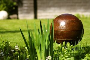 tuin zomerklaar natuursteen